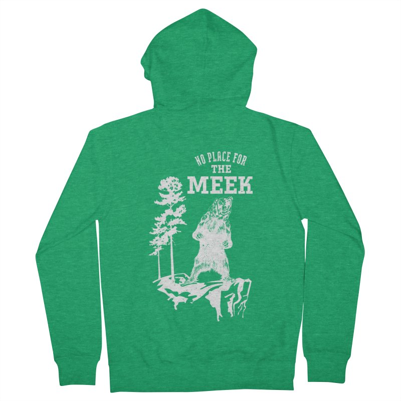 No Place for the Meek Women's Zip-Up Hoody by Vet Design's Shop