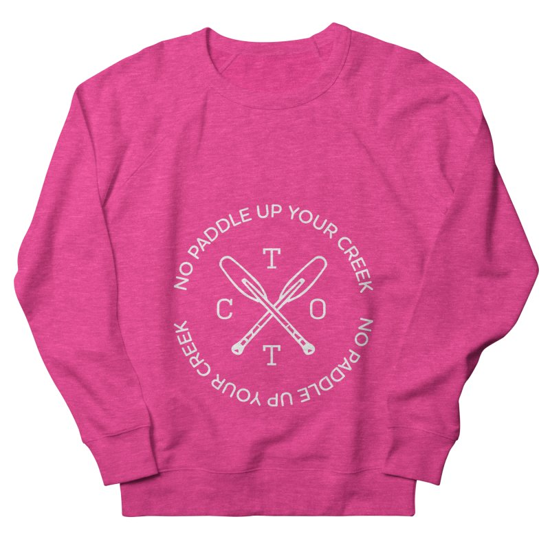 No Paddle Up Your Creek Men's French Terry Sweatshirt by Vet Design's Shop