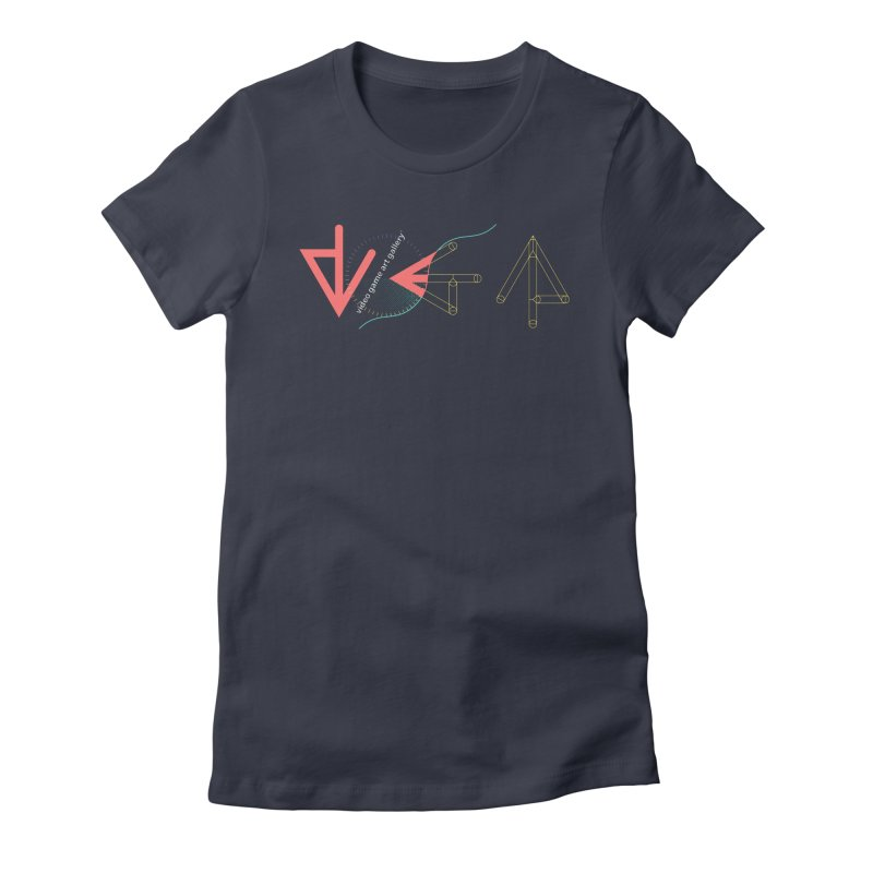 VGA Gallery T-Shirt Women's Fitted T-Shirt by VGA Gallery's Artist Shop