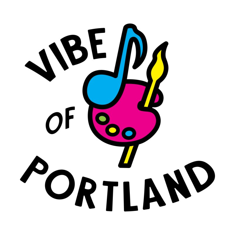 Vibe Logo - Black Women's Longsleeve T-Shirt by vibepdx's Artist Shop