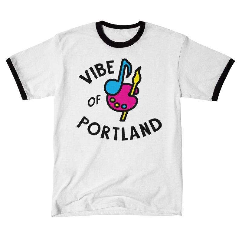 Vibe Logo - Black Men's T-Shirt by vibepdx's Artist Shop