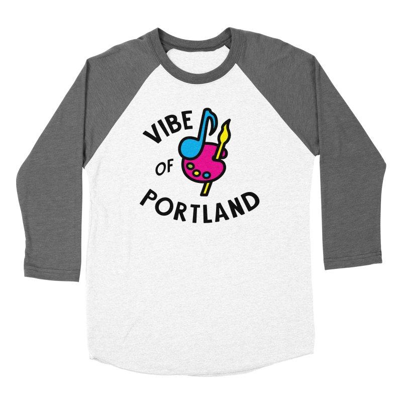 Vibe Logo - Black Men's Longsleeve T-Shirt by vibepdx's Artist Shop
