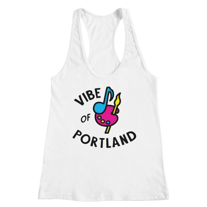 Vibe Logo - Black Women's Tank by vibepdx's Artist Shop