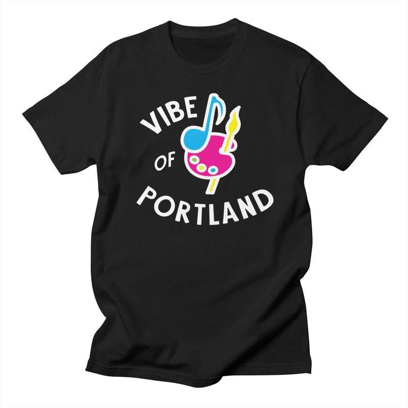 Vibe Logo - White Men's T-Shirt by vibepdx's Artist Shop