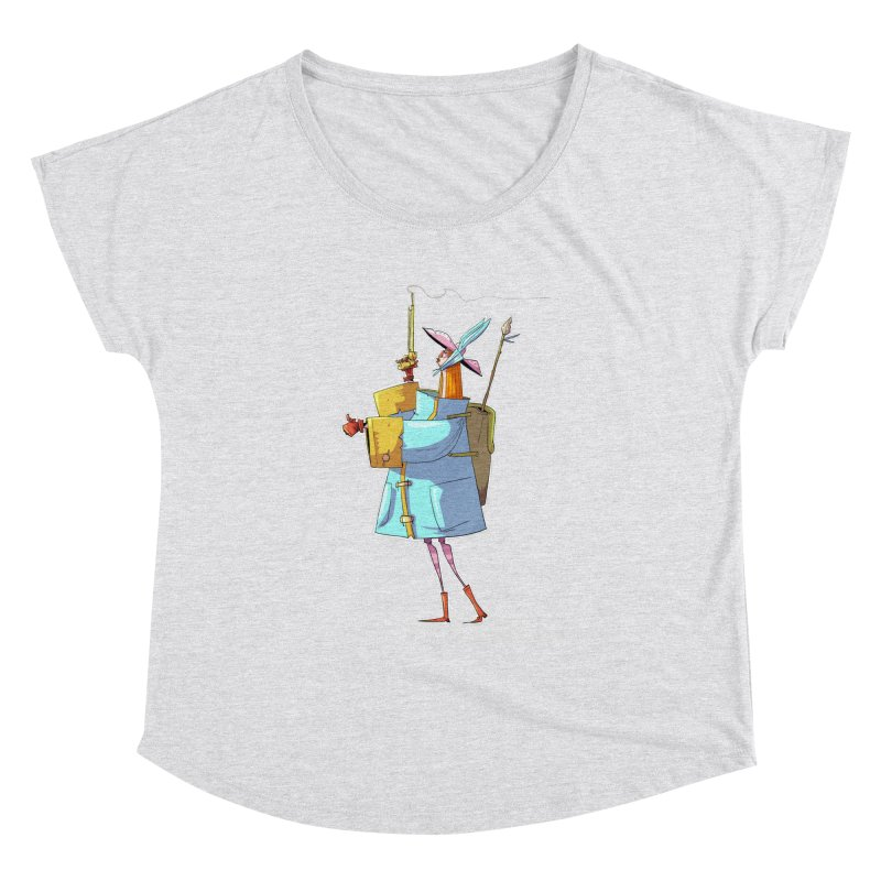 The Fab! Women's Dolman Scoop Neck by viborjuhasart's Artist Shop