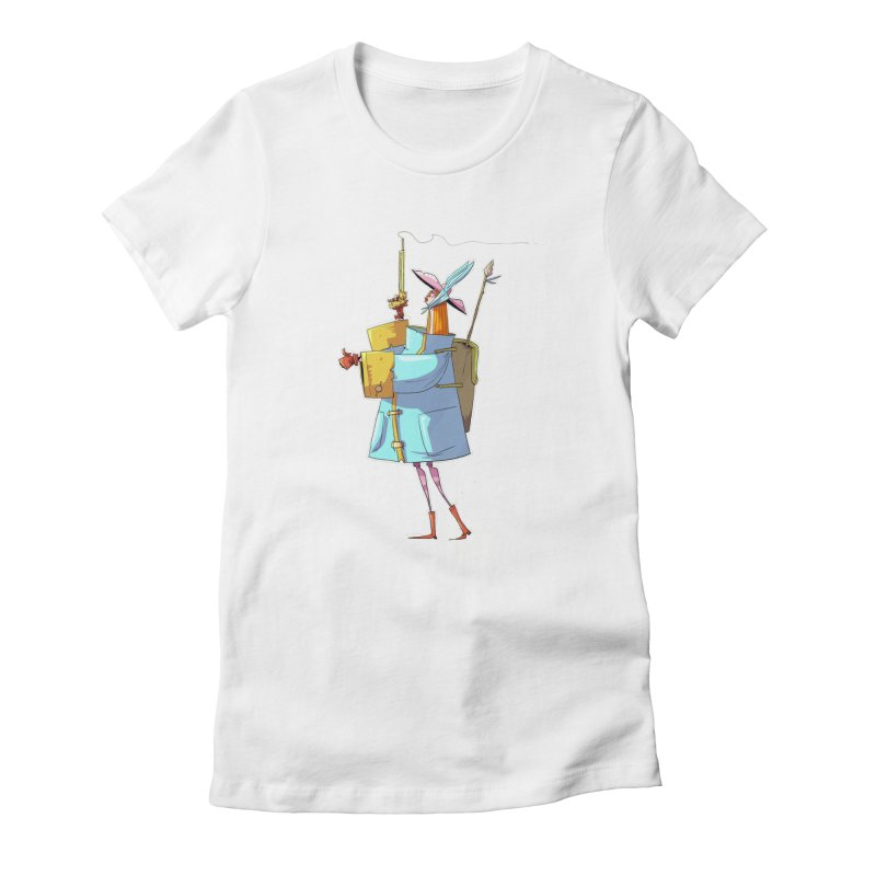 The Fab! Women's T-Shirt by viborjuhasart's Artist Shop
