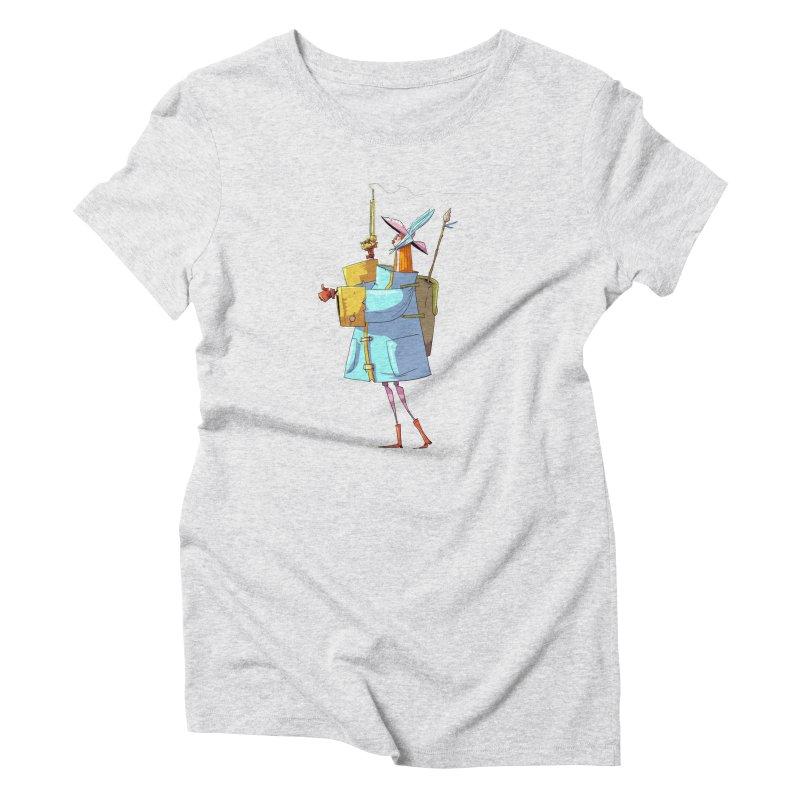 The Fab! Women's Triblend T-Shirt by viborjuhasart's Artist Shop