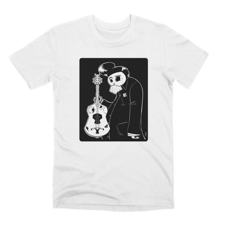 The Man In Black Men's Premium T-Shirt by viborjuhasart's Artist Shop