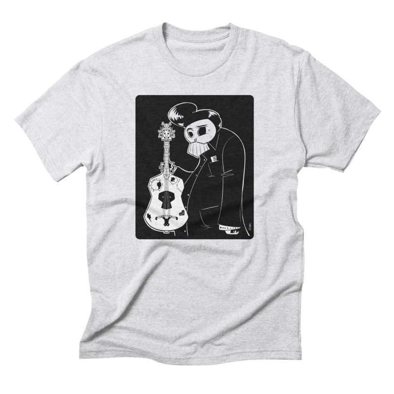 The Man In Black Men's T-Shirt by viborjuhasart's Artist Shop