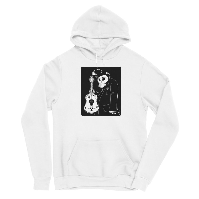 The Man In Black Men's Pullover Hoody by viborjuhasart's Artist Shop