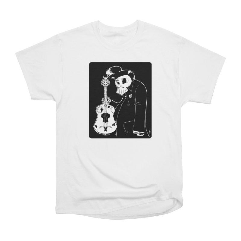 The Man In Black Women's Heavyweight Unisex T-Shirt by viborjuhasart's Artist Shop