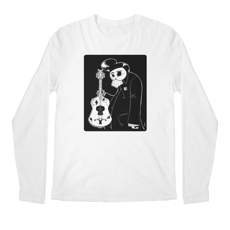 The Man In Black Men's Longsleeve T-Shirt by viborjuhasart's Artist Shop