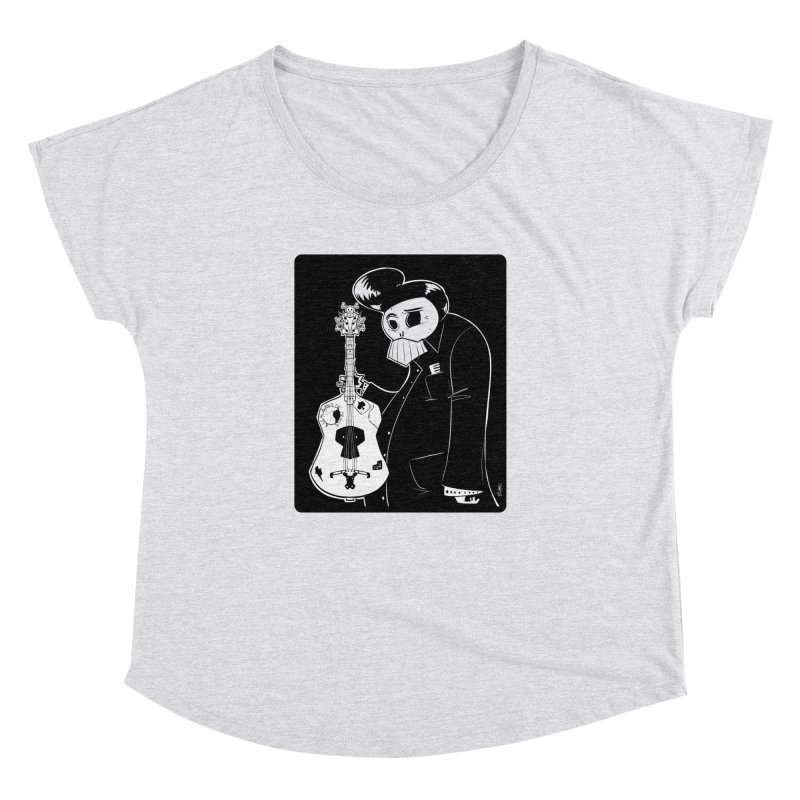 The Man In Black Women's Dolman Scoop Neck by viborjuhasart's Artist Shop