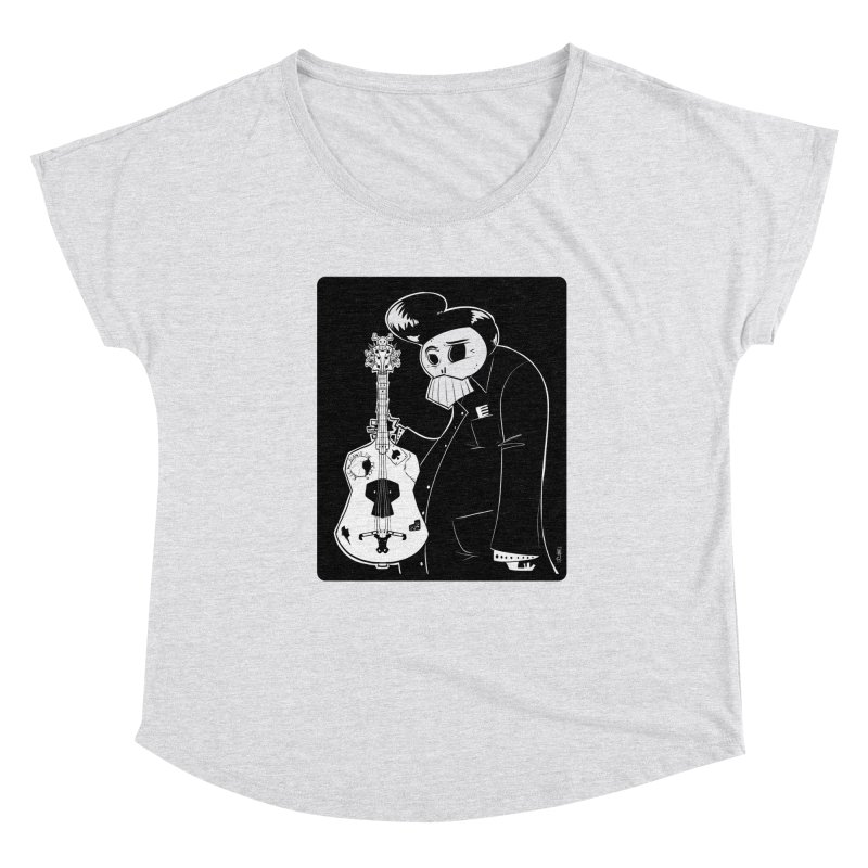 The Man In Black Women's Scoop Neck by viborjuhasart's Artist Shop
