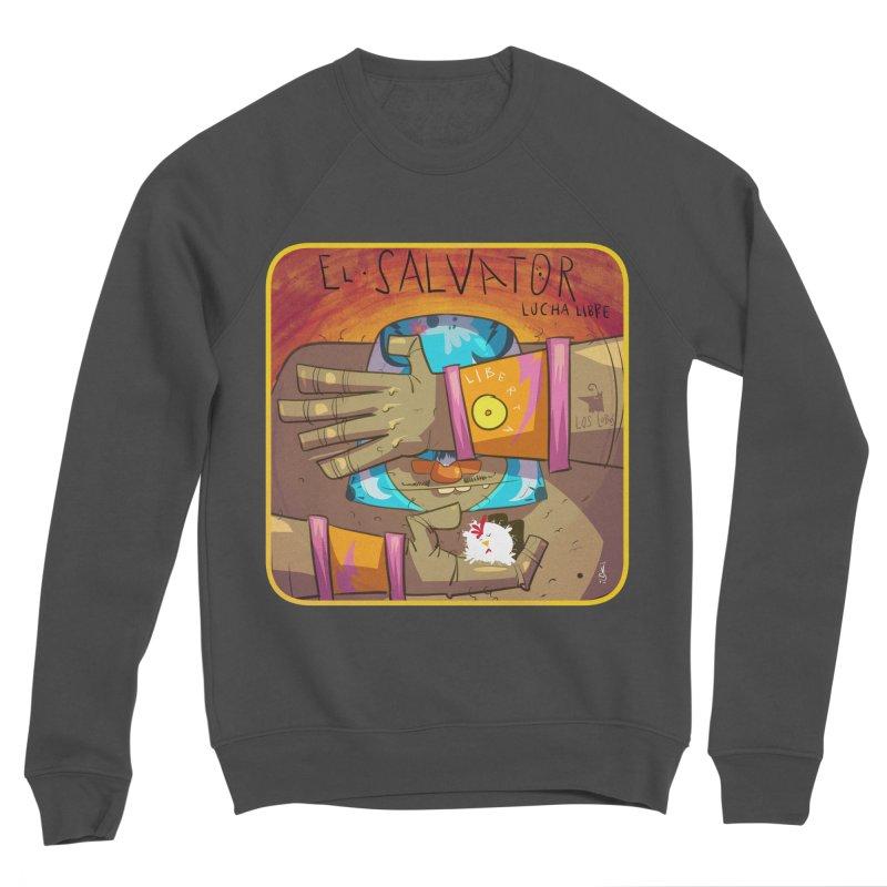 Lucha! El Salvator Women's Sponge Fleece Sweatshirt by viborjuhasart's Artist Shop