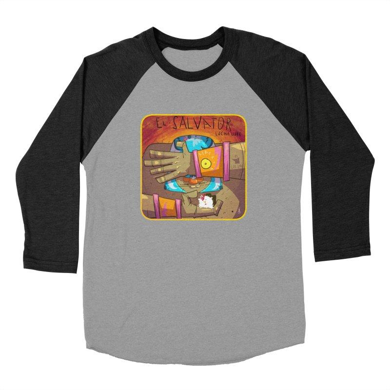 Lucha! El Salvator Men's Longsleeve T-Shirt by viborjuhasart's Artist Shop