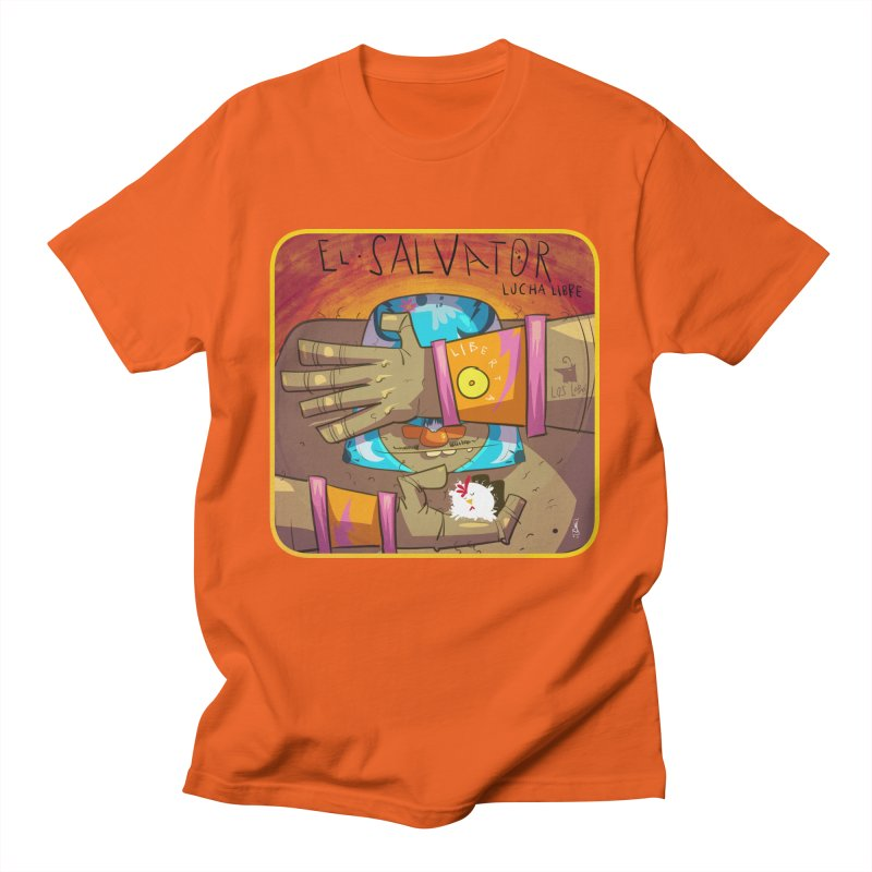 Lucha! El Salvator Men's T-Shirt by viborjuhasart's Artist Shop
