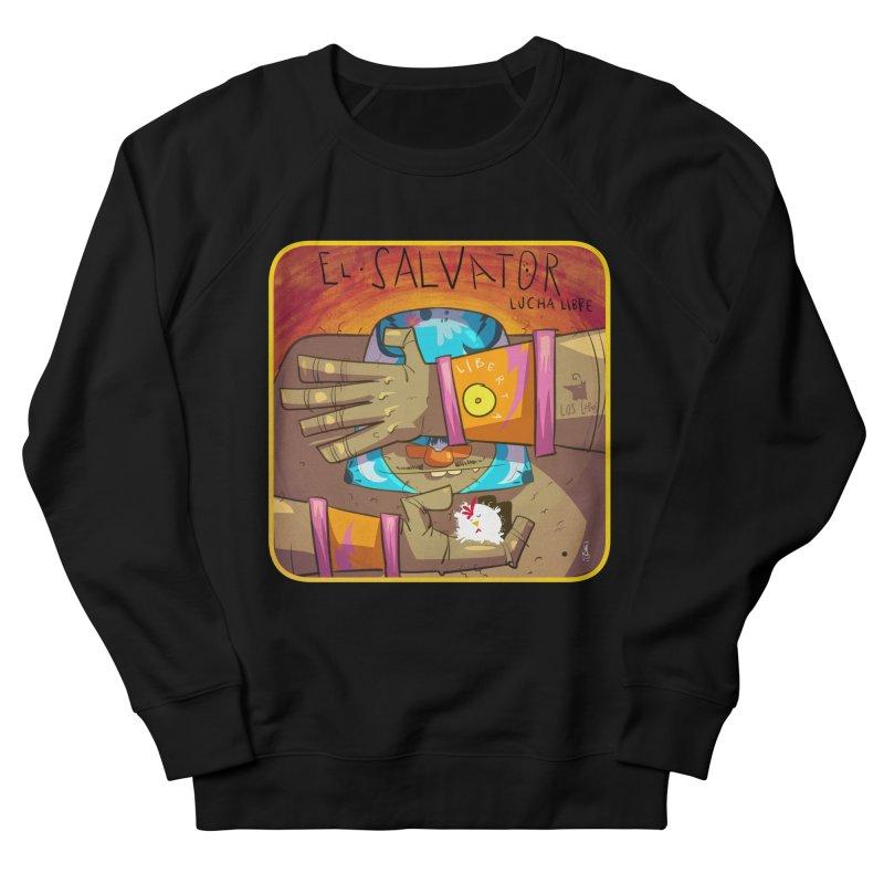 Lucha! El Salvator Women's Sweatshirt by viborjuhasart's Artist Shop