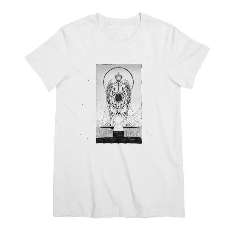 The Kolossus Women's Premium T-Shirt by viborjuhasart's Artist Shop