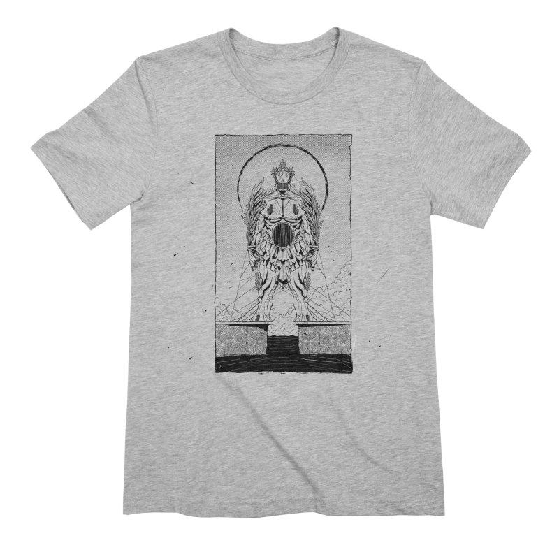 The Kolossus Men's Extra Soft T-Shirt by viborjuhasart's Artist Shop