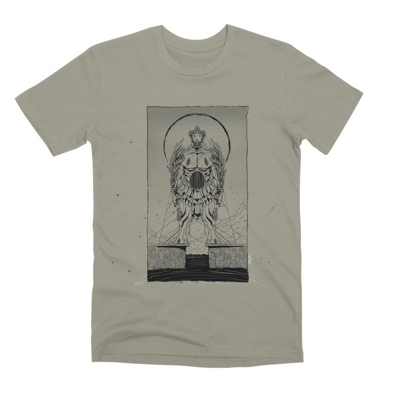 The Kolossus Men's Premium T-Shirt by viborjuhasart's Artist Shop