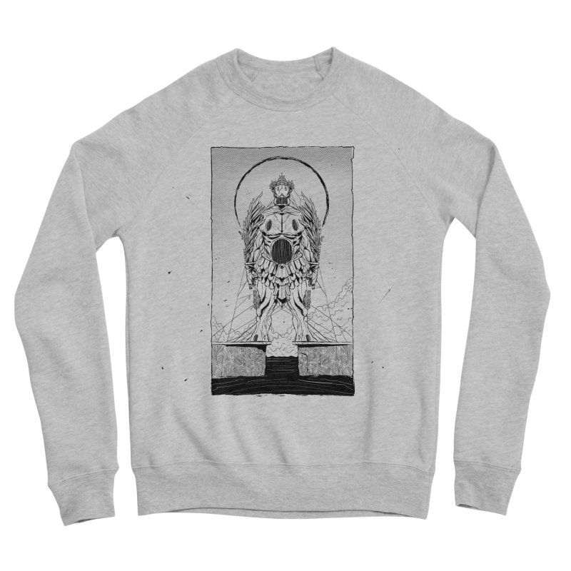 The Kolossus Women's Sponge Fleece Sweatshirt by viborjuhasart's Artist Shop