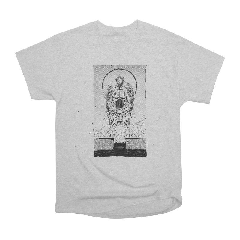 The Kolossus Men's Heavyweight T-Shirt by viborjuhasart's Artist Shop