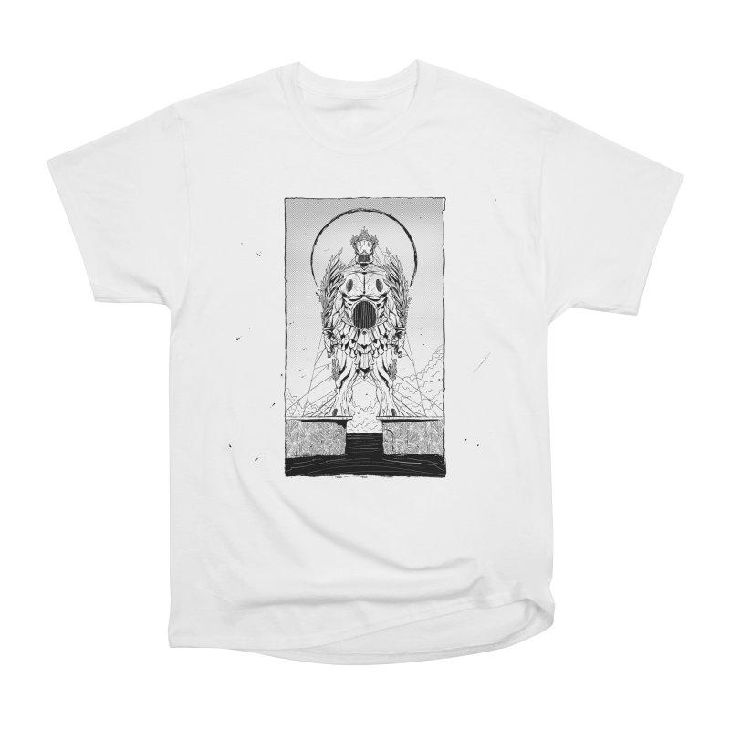 The Kolossus Women's Heavyweight Unisex T-Shirt by viborjuhasart's Artist Shop