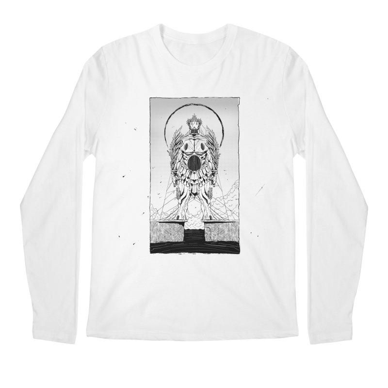 The Kolossus Men's Regular Longsleeve T-Shirt by viborjuhasart's Artist Shop