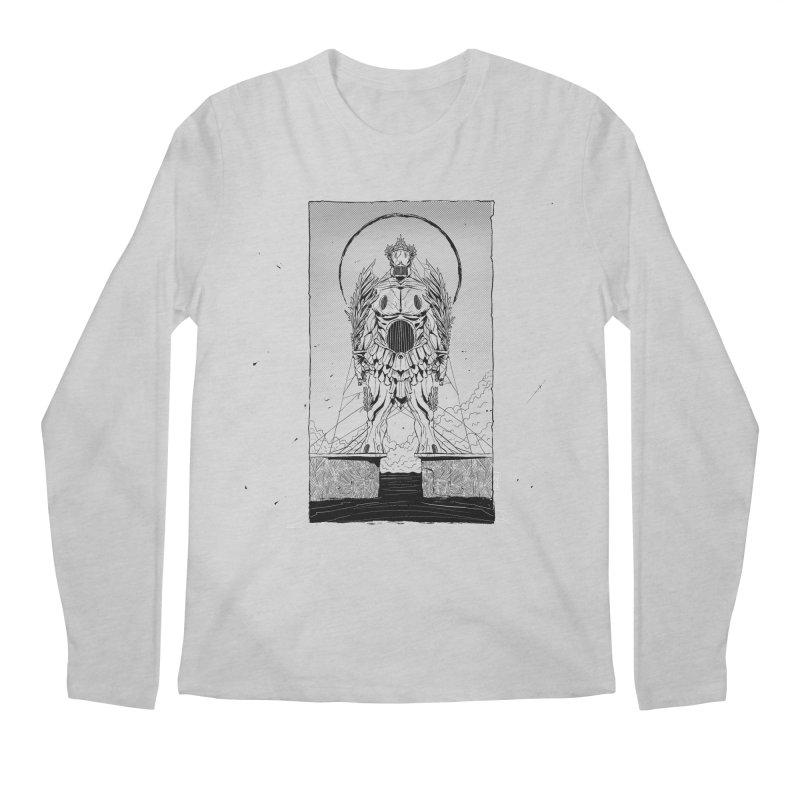 The Kolossus Men's Longsleeve T-Shirt by viborjuhasart's Artist Shop