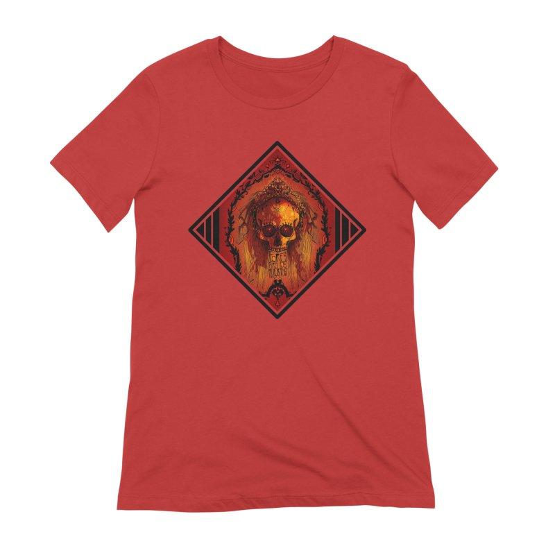 Flores para los Muertos Women's Extra Soft T-Shirt by viborjuhasart's Artist Shop