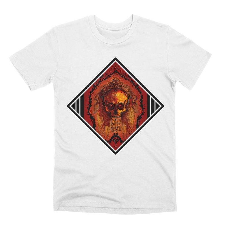 Flores para los Muertos Men's Premium T-Shirt by viborjuhasart's Artist Shop