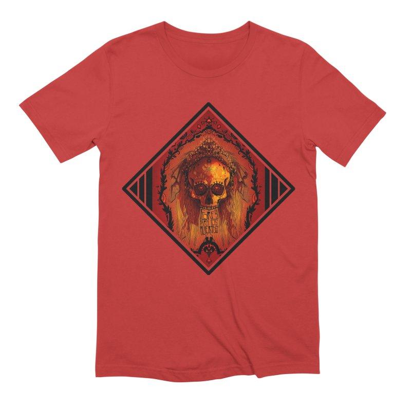 Flores para los Muertos Men's Extra Soft T-Shirt by viborjuhasart's Artist Shop