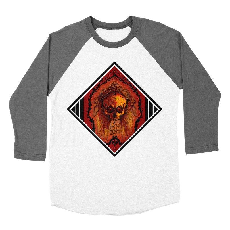 Flores para los Muertos Women's Baseball Triblend Longsleeve T-Shirt by viborjuhasart's Artist Shop