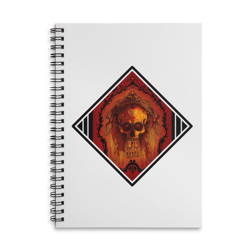 Flores para los Muertos Accessories Notebook by viborjuhasart's Artist Shop