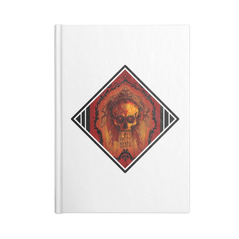 Flores para los Muertos Accessories Lined Journal Notebook by viborjuhasart's Artist Shop