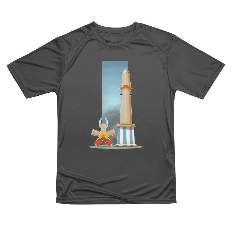 Friends Men's Performance T-Shirt by viborjuhasart's Artist Shop