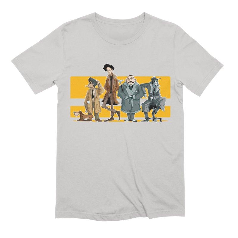 Curious Gentlemen Men's Extra Soft T-Shirt by viborjuhasart's Artist Shop