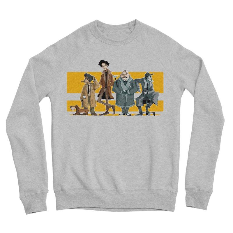 Curious Gentlemen Women's Sponge Fleece Sweatshirt by viborjuhasart's Artist Shop