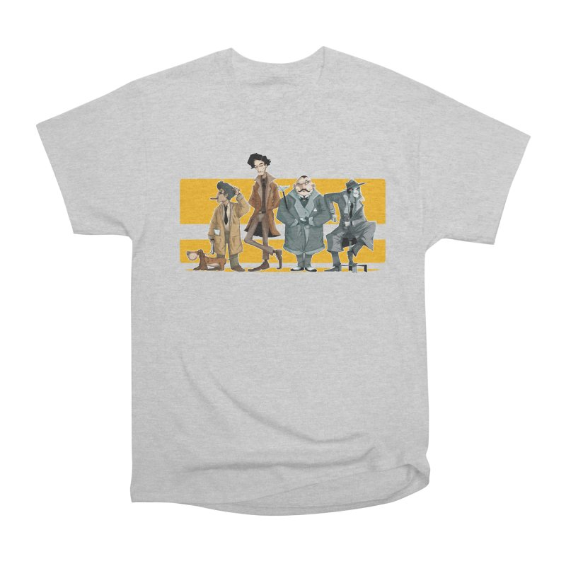 Curious Gentlemen Men's Heavyweight T-Shirt by viborjuhasart's Artist Shop