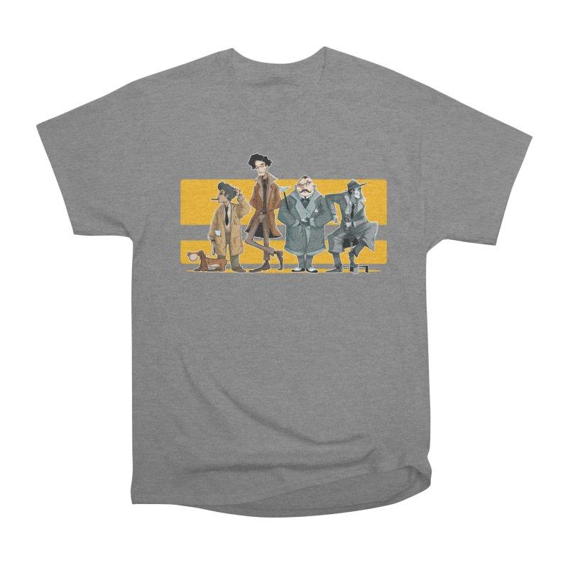 Curious Gentlemen Men's Heavyweight T-Shirt by viborjuhasart's Artist Shop