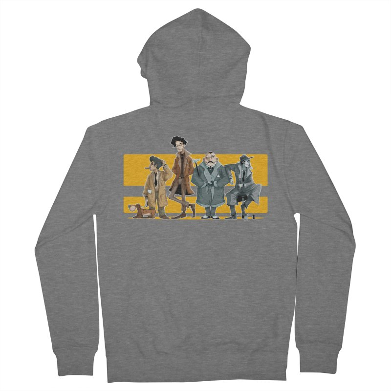 Curious Gentlemen Women's Zip-Up Hoody by viborjuhasart's Artist Shop