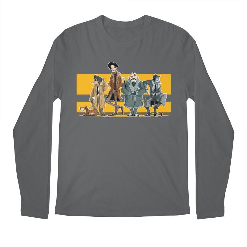Curious Gentlemen Men's Longsleeve T-Shirt by viborjuhasart's Artist Shop