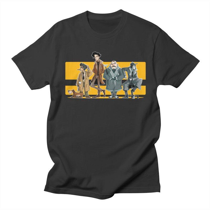 Curious Gentlemen Men's T-Shirt by viborjuhasart's Artist Shop