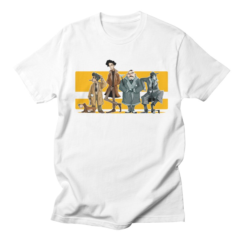Curious Gentlemen Men's T-Shirt by viborjuhasart's Artist Shop