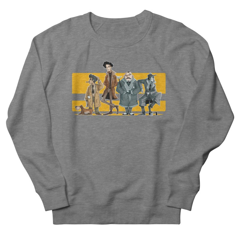 Curious Gentlemen Men's French Terry Sweatshirt by viborjuhasart's Artist Shop