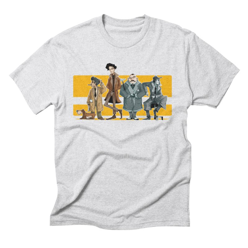 Curious Gentlemen Men's Triblend T-Shirt by viborjuhasart's Artist Shop