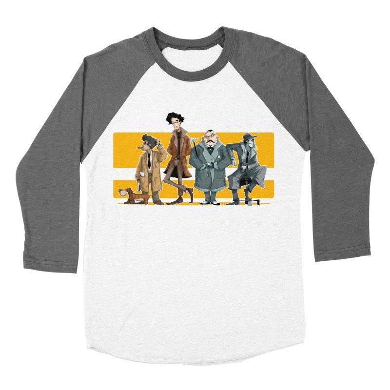 Curious Gentlemen Women's Baseball Triblend Longsleeve T-Shirt by viborjuhasart's Artist Shop