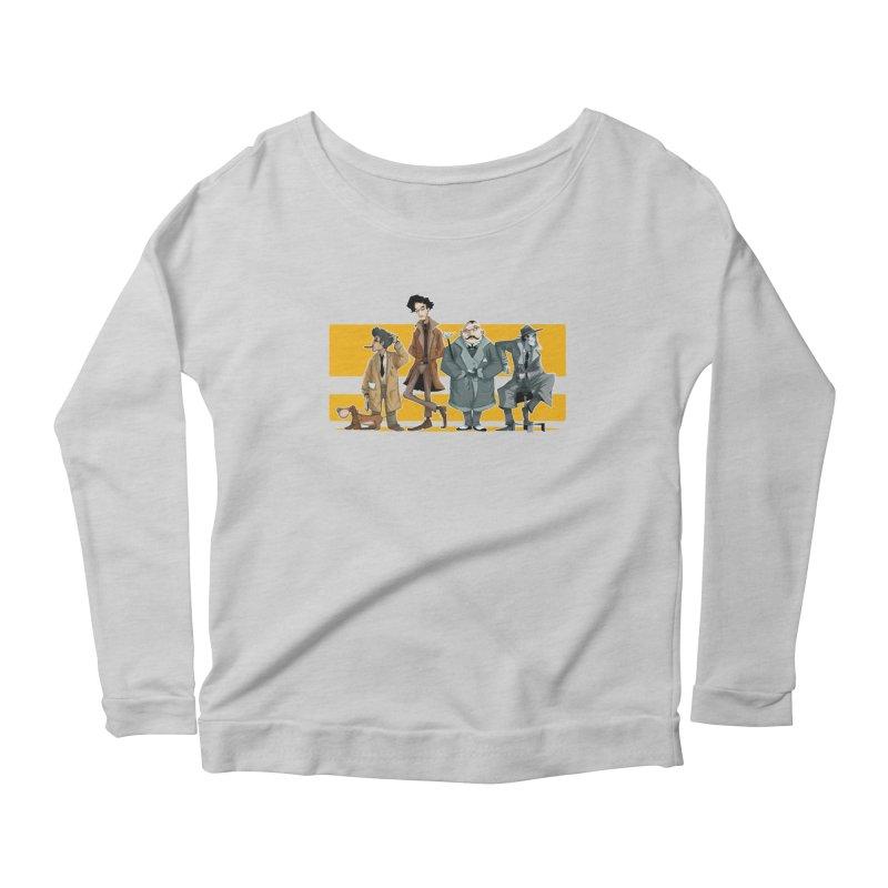 Curious Gentlemen Women's Scoop Neck Longsleeve T-Shirt by viborjuhasart's Artist Shop