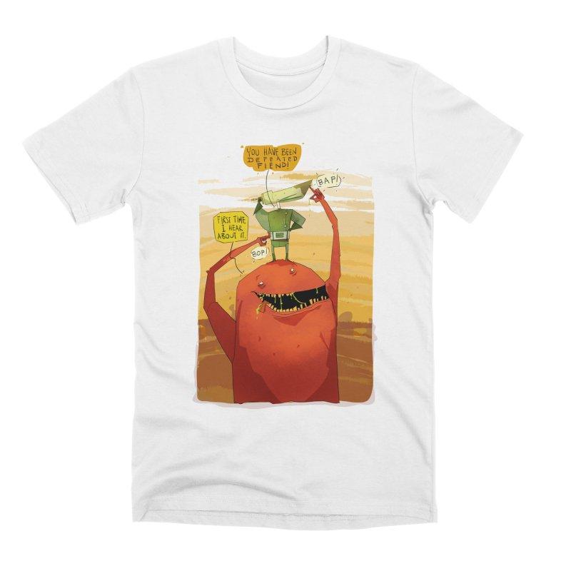 Fiendhunter No1 Men's Premium T-Shirt by viborjuhasart's Artist Shop
